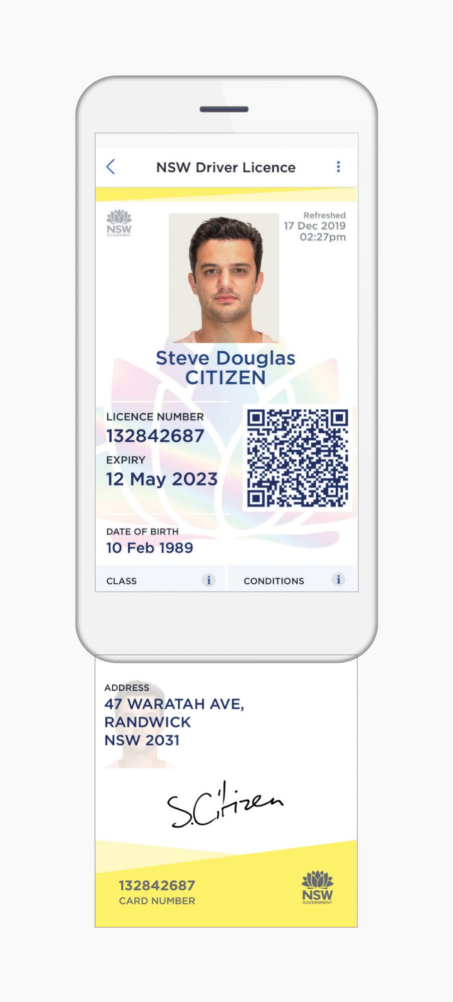 NSW Digital Driver Licence