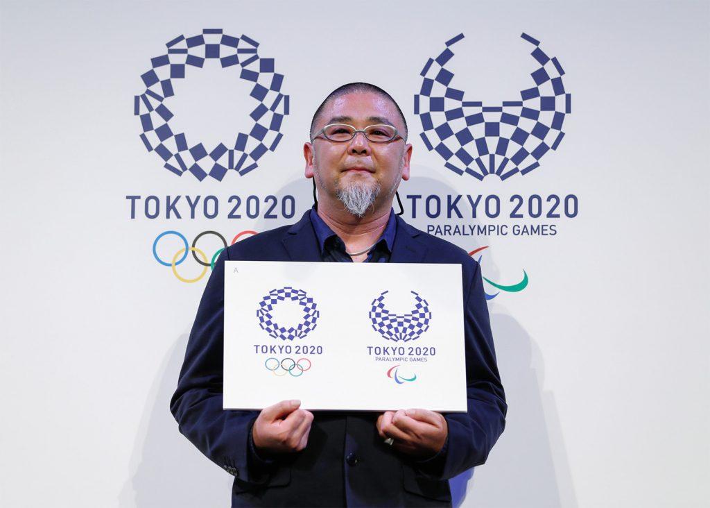 Asao Tokolo, designer of the Tokyo 2020 emblems